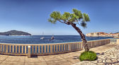 View on old town in Dubrovnik, Croatia — Stock Photo