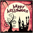 Happy halloween - illustration — Foto Stock