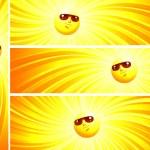 Sunny banner — Stock Vector #4700628