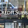 ZURICH - JANUARY 10:Credit Suisse is the second-largest Swiss ba — 图库照片