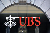 ZURICH - NOVEMBER 1: UBS, Switzerland's largest bank. Swiss bank — Stock Photo