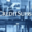 Stock Photo: ZURICH - JANUARY 10:Credit Suisse is second-largest Swiss ba