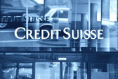 ZURICH - JANUARY 10:Credit Suisse is the second-largest Swiss ba — Stock Photo