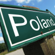 Poland road sign — Stock Photo #20780145