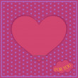Background with hearts — Stock Vector #8116839