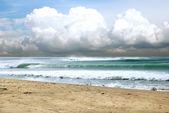 Sea coast cloud — Stock Photo