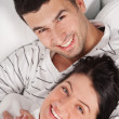 Smiling couple — Foto de Stock