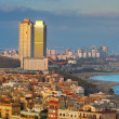 Barcelona sea view - Stock Photo