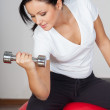 Woman at gym — Stock Photo #18546025