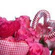 Bouqet of roses -valentine's day - Stock Photo