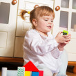 Playing child at home — Stock Photo