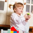 Stock Photo: Playing child at home