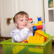 Child playing at home — Stock Photo #22206213