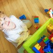 Stock Photo: Child playing at home