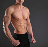 Sexy muscular man — Stock Photo