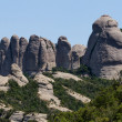 View of Montserrat mountains (Spain) — Stock Photo