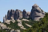 View of Montserrat mountains (Spain) — Стоковое фото