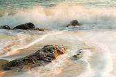 Güzel ayrıntılı olarak kıyı — Stok fotoğraf