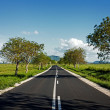 Asphalt road  — Stockfoto