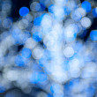 Blurred blue sparkles — Stock Photo