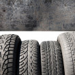 Used tires — Stock Photo #24017187