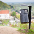 Stock Photo: Basket on hill