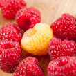 Fresh raspberries — Stock Photo #31549893