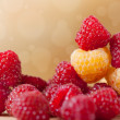 Fresh raspberries — Stock Photo #31620349