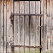 Doors in shed — Stock Photo