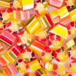 Sugar tutti-frutti candies mix — Stock Photo