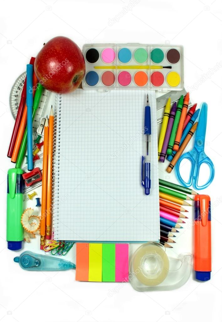 School accessories, back to school concept — Stock Photo #12158360