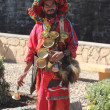 Stock Photo: Water seller