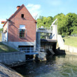 Hydro electric power plant — Stock Photo