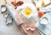 Baking cake — Stock Photo