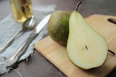 Cutted pears — Stock Photo