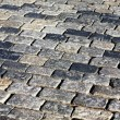 Stone pavement - Stock Photo