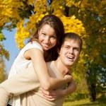 Happy couple — Stock Photo #1855427