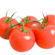 Stock Photo: Bunch of fresh tomatoes