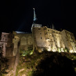 Le Mont St Michel in Normandie, France — Stock Photo