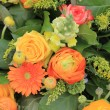 Orange and yellow bouquet — Foto Stock