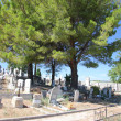 Stock Photo: Old cemetery in Provence