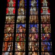 Stock Photo: Stained glass in church in Aix en Provence