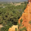 Stock Photo: Ochre rocks in Roussillon
