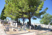 Old cemetery in the Provence — Stock Photo