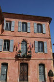 The town hall in Roussillon, Provence — Stock Photo