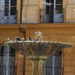 Fountain in Aix en Provence - Foto Stock
