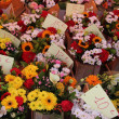 Colorful bouquets at a French market — Stock Photo #12851653
