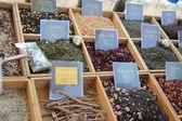 Luxusní druhů čaje — Stock fotografie