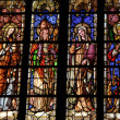Stained glass in a church in Aix en Provence — Stock Photo #13407112