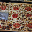 Square pizza — Foto de stock #13405511